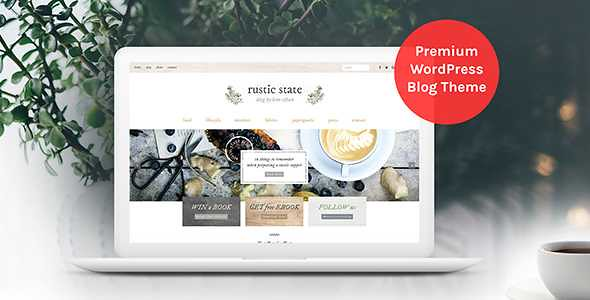 Rustic State WordPress Theme free download