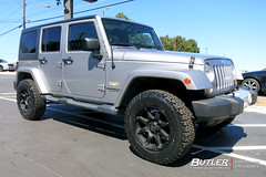 Jeep Wrangler with 18in Black Rhino Glamis Wheels and BFGoodrich KO2 AT