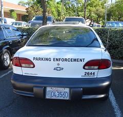 La Habra CA Police - Parking Enforcement - Chevrolet Cavalier (2)