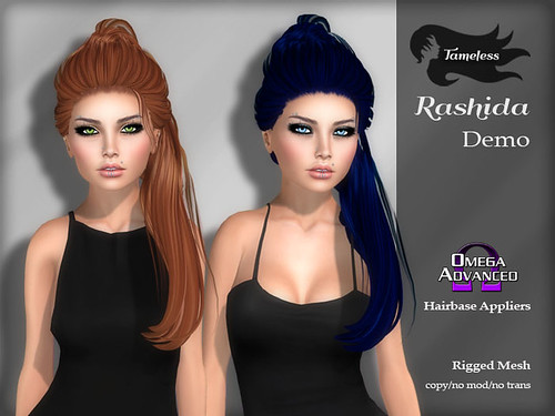 Tameless Hair Rashida - Dark Side Fashion Fair Exclusive