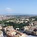 Vistas de Roma desde el Vaticano