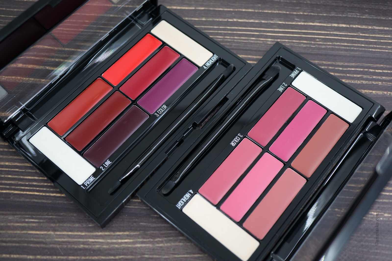 Maybelline Lip Colour Palette