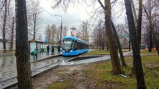Moscow tram 31013 Vityaz-M 17line