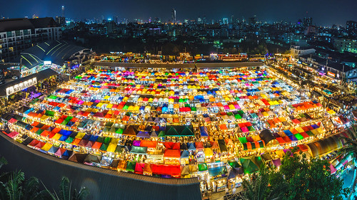 nightpanoramicview nightphotography bangkok fe1635mmf4zaoss esplanade panoramicview nightmarket thai panorama sony ilce7m2 thailand