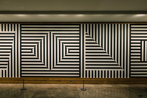 Sol Lewitt Wall Drawing No. 370 (detail), 1982, Met