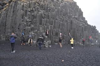 Playa de Reynisfjara. Vik í Mýrdal (Islandia)