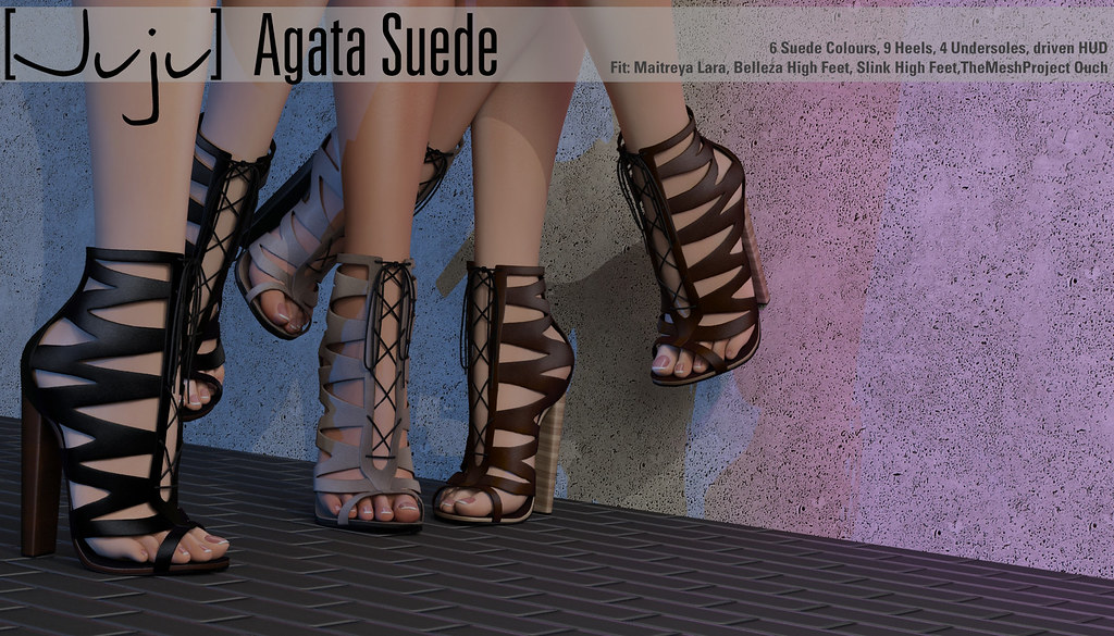 [Juju] Agata (suede) for Kustom 9 - SecondLifeHub.com