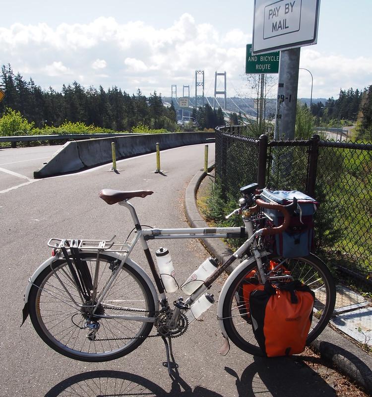 Ivory Pass and Tacoma Narrows Bridge