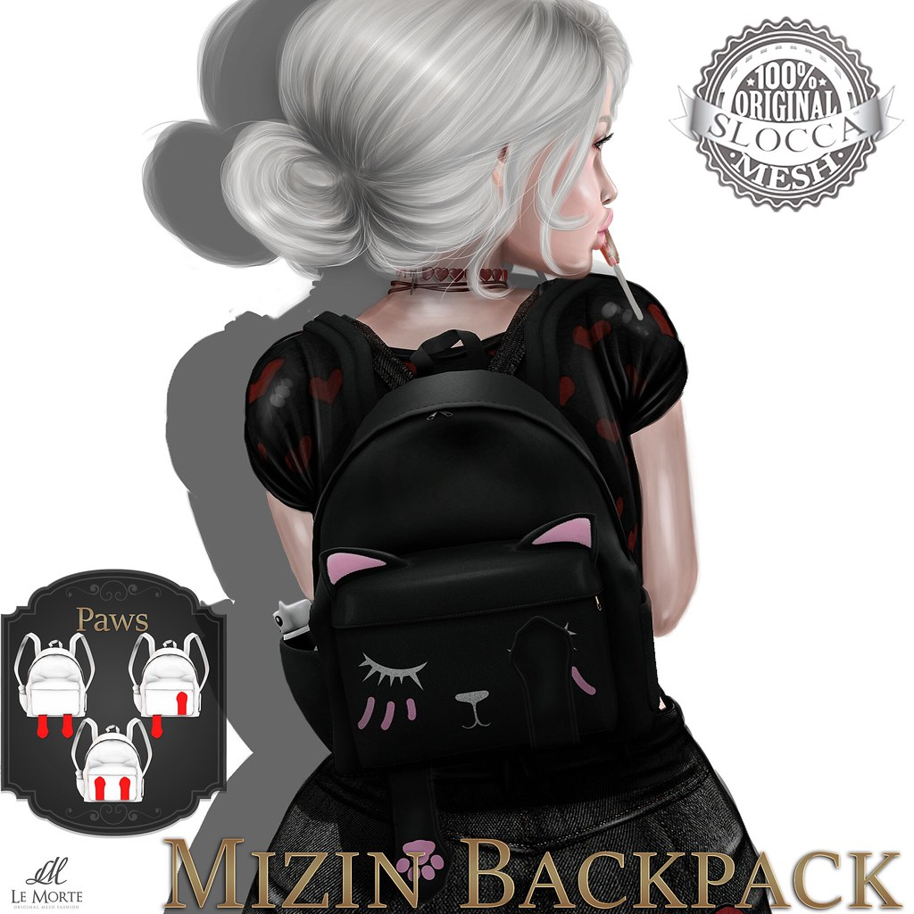 Le Morte - Mizin Backpack - SecondLifeHub.com
