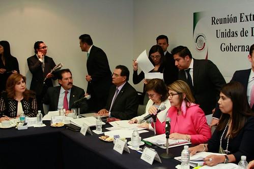 Comisiones Unidas de Derechos Humanos; Justicia; Gobernación y Estudios Legislativos 25/abr/17