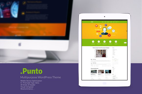 Punto v3.3 – Multipurpose WordPress Theme