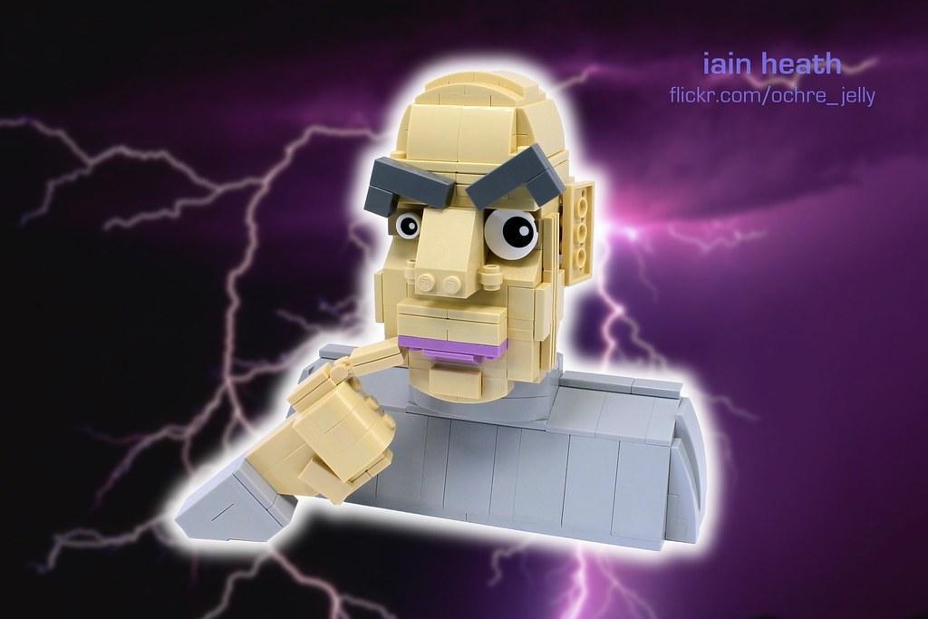 One MILLION dollars! (custom built Lego model)