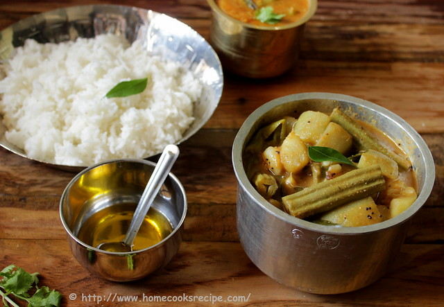 Sweet and Spicy Vegetable Curry