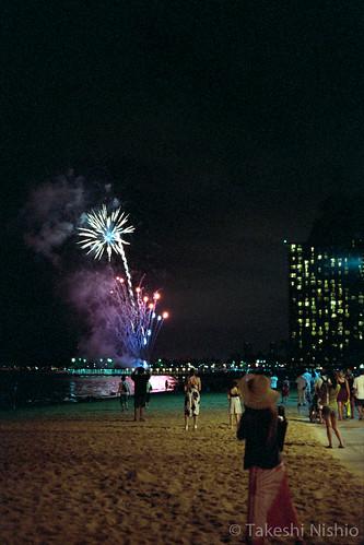 ヒルトンの花火 / Hilton's fireworks show