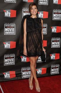 Eva Mendes Sheer Dress Celebrity Style Women's Fashion