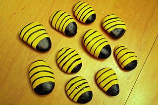 Bee rocks