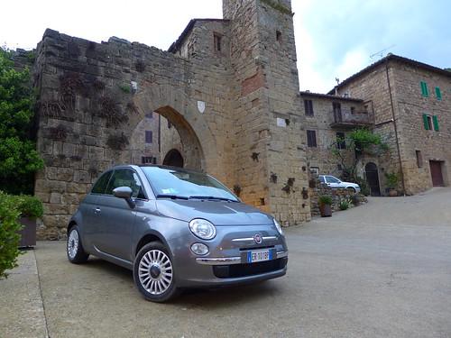 Fiat 500 in Montichiello