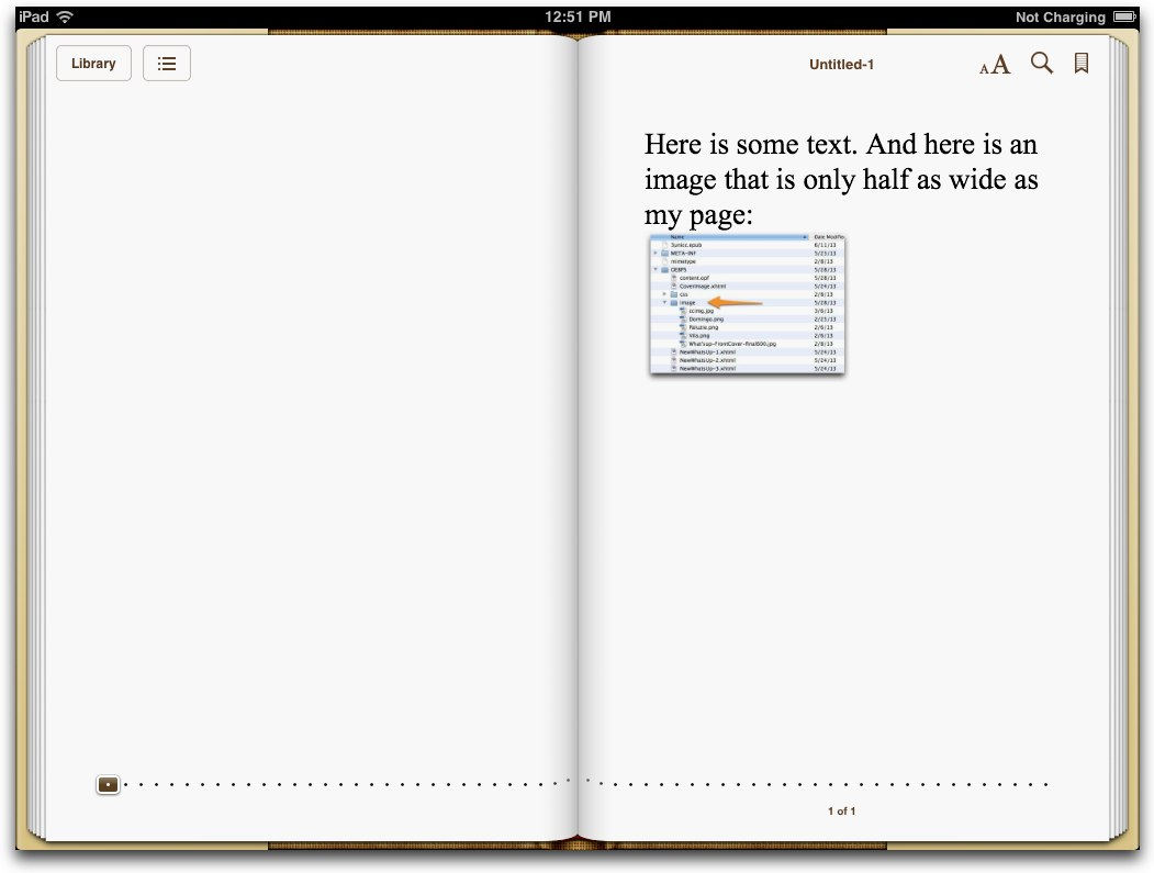 iBooks does width!