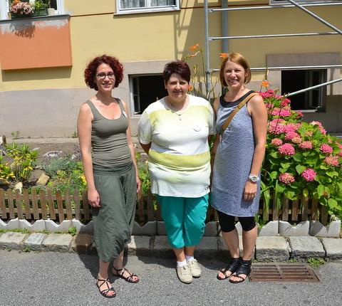 Jasmina, Keser, Barbara Degen und Marlies Wiltsche