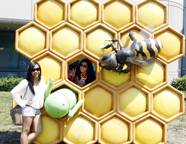Googleplex - honeycomb