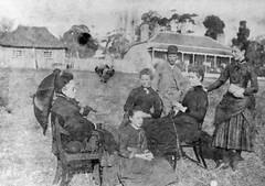 Buckland House Academy, circa 1877