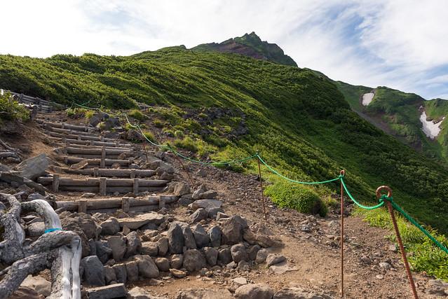 利尻山登山道