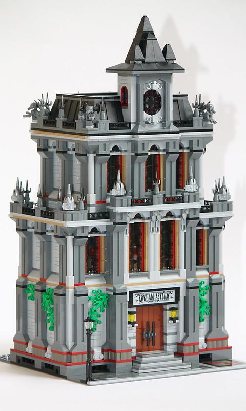 "10937 Modular Building: ""An Alternate Asylum"" - LEGO Town"
