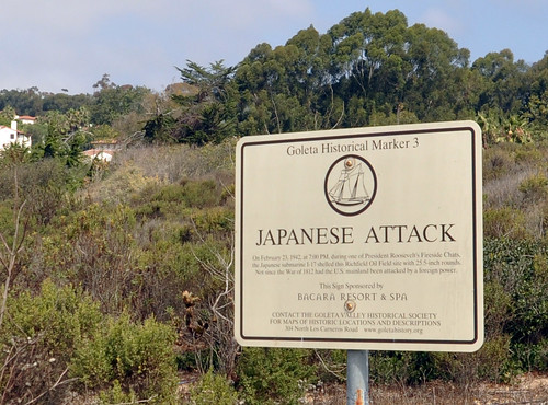 Japanese Attack Plaque