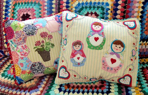 Russian Dolls Cushion Cover