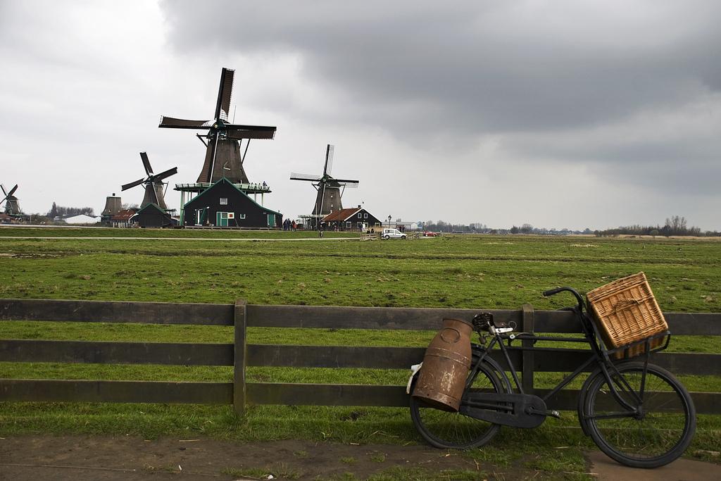 9. Molinos de viento en Zaanse Schanz, a 10 km de Ámsterdam. Autor, Tania Caruso