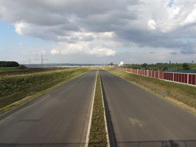 Ich werde mal die neue A4 zwischen Sindorf und Düren