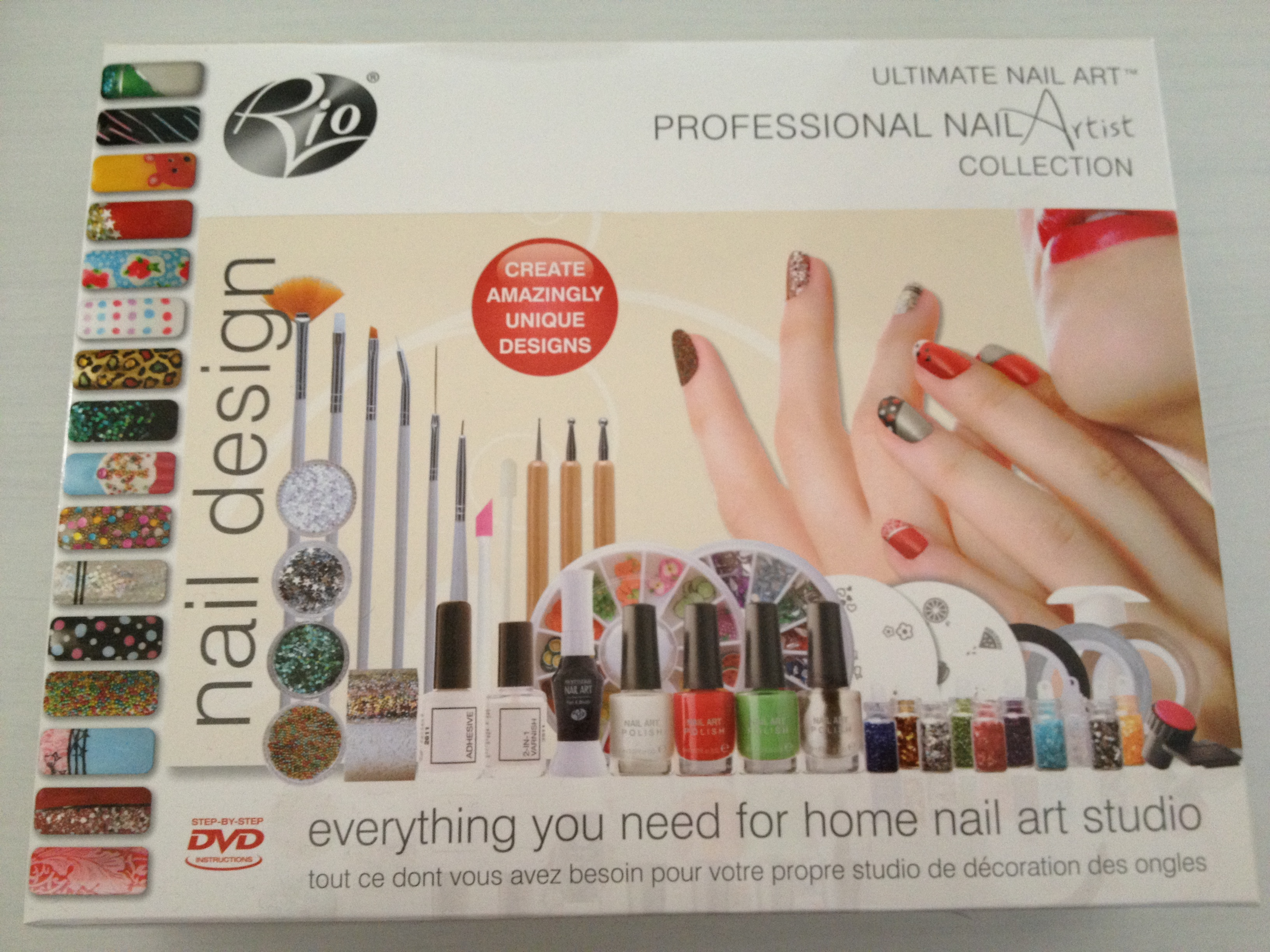 Nail Artist Design Kit Nail Art Stamping Kit Manicure Plate Set