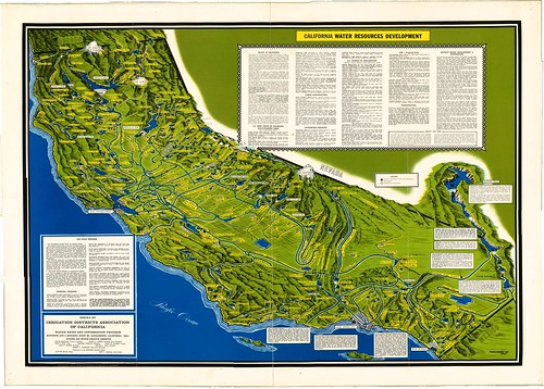 1960s CA Water Resources Map med res