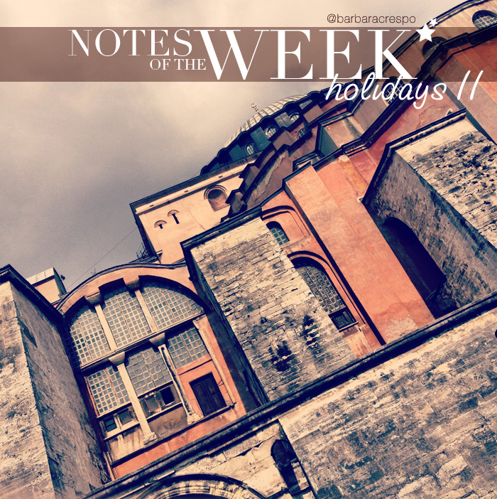 notes of the week instagram instavideo tumblr holidays 2013 mediterranean cruisse barbara crespo