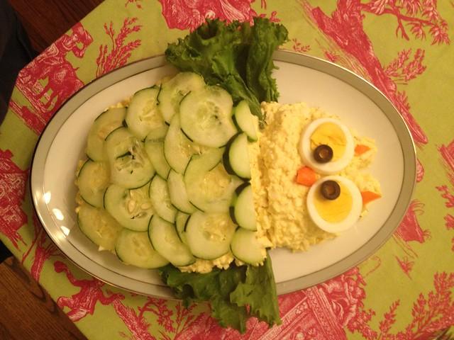 Baby Shower Egg Salad Owl I Made