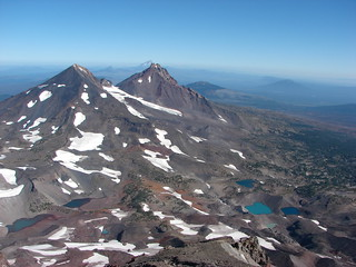 South Sister summit view