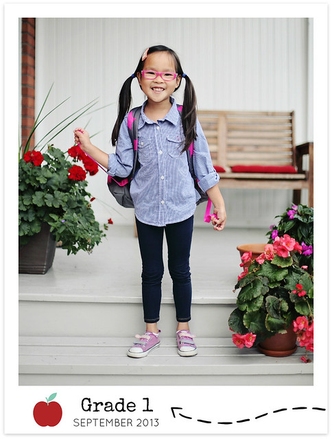 first day of Grade 1