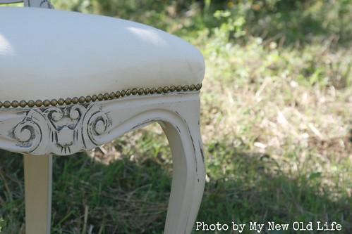 sedia shabby chic handmade