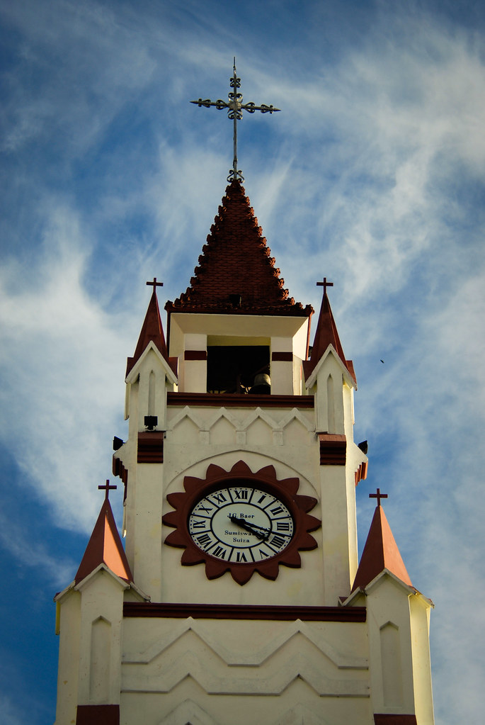 Main Church in Iquitos, during our walking tours in this Rubber Boom city (1886-1914).