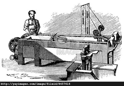 spinneret-machine--vintage-engraving