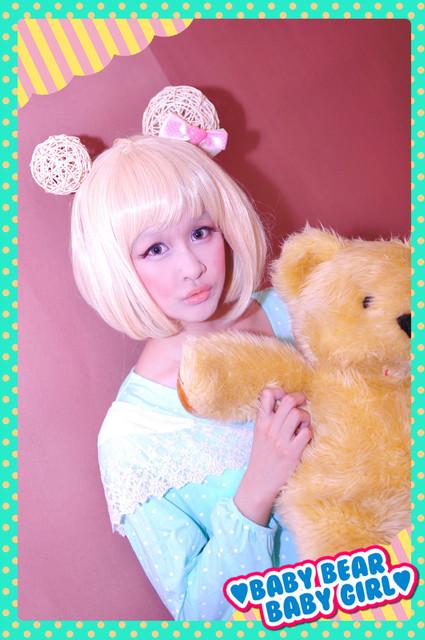 *主题彩妆*森林小动物~baby bear?