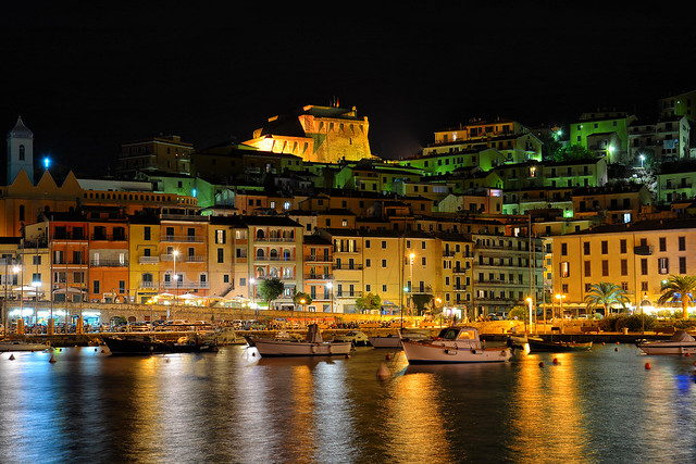 Porto Santo Stefano by night