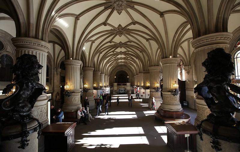 漢堡市政廳內部