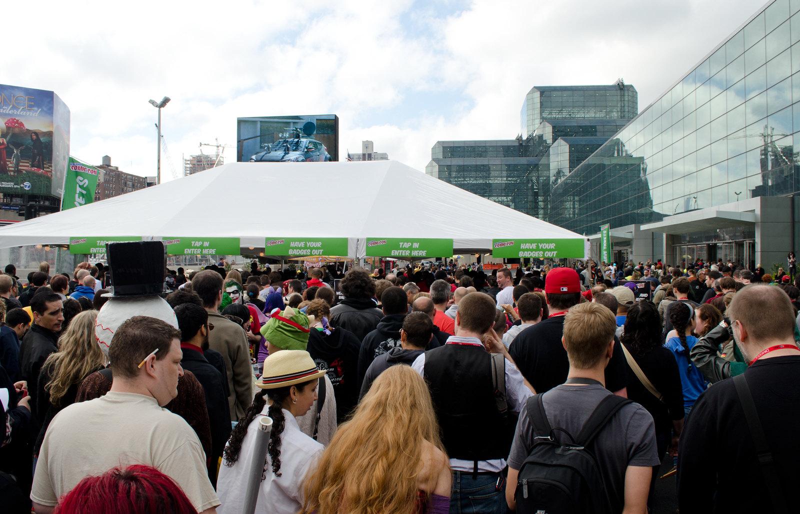 NYCC 2013  Entrance