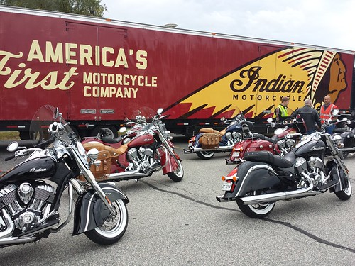 Indian Motorcycle Test Ride