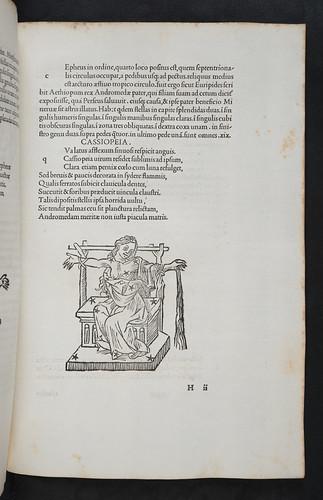 Woodcut illustration in Firmicus Maternus, Julius: Mathesis (De nativitatibus libri VIII)