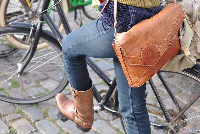 Rose & Cyclist - bag & boots