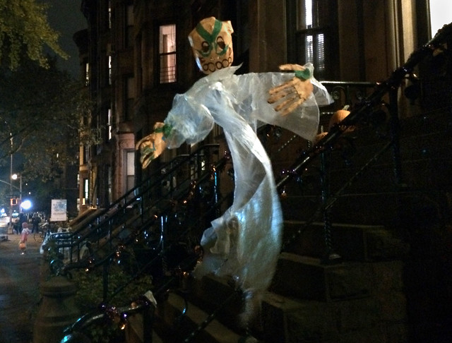 Halloween night, Brooklyn