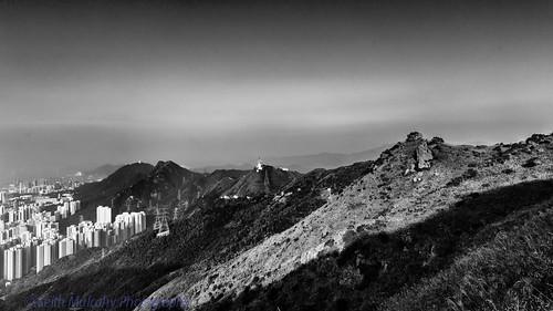 sky blackandwhite sunrise hongkong smog cityscape hongkongisland newterritories kowloonpeak canon2470mmf28 canon5dmk3 october2013 cloudsstormssunsetssunrises keithmulcahy blackcygnusphotography ppa7a0 ppd56c