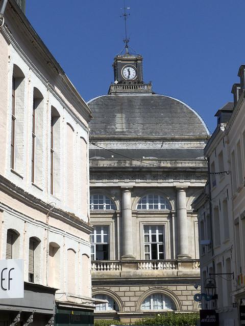St-Omer, rue des Clouteries, hôtel de ville